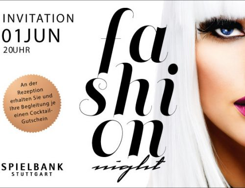 Fashion Night in der Spielbank Stuttgart am 01.06.2019