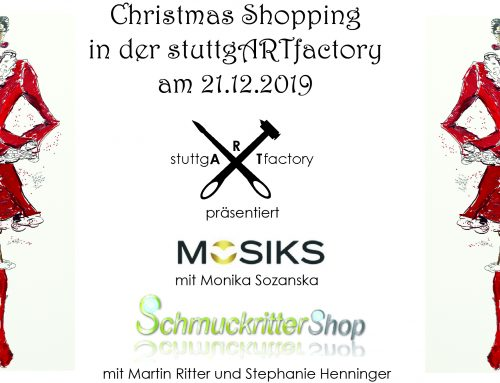 Christmas Shopping in der stuttgARTfactory
