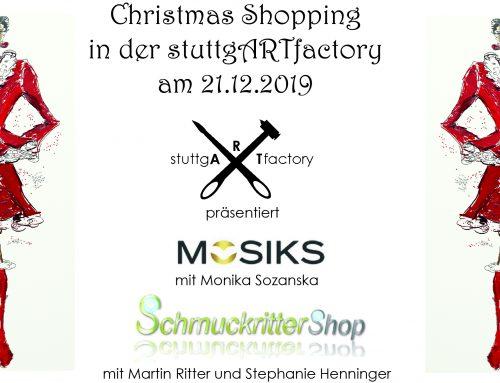 Christmas Shopping in der stuttgARTfactory