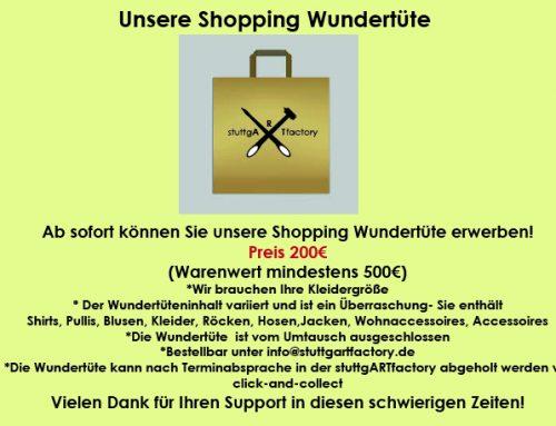 Unsere Shopping- Wundertüte